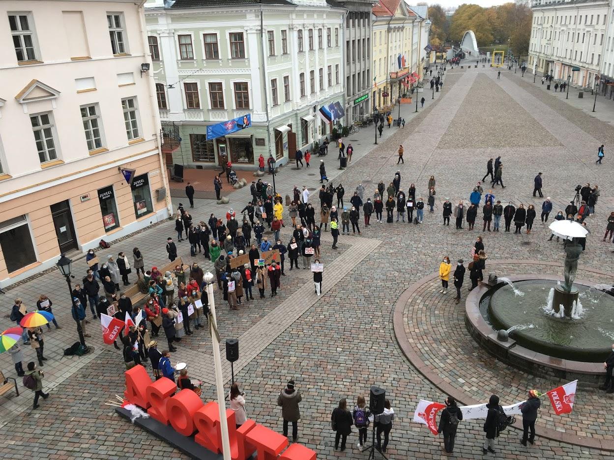 Poola streik Eveliis Padar oktoober 2020